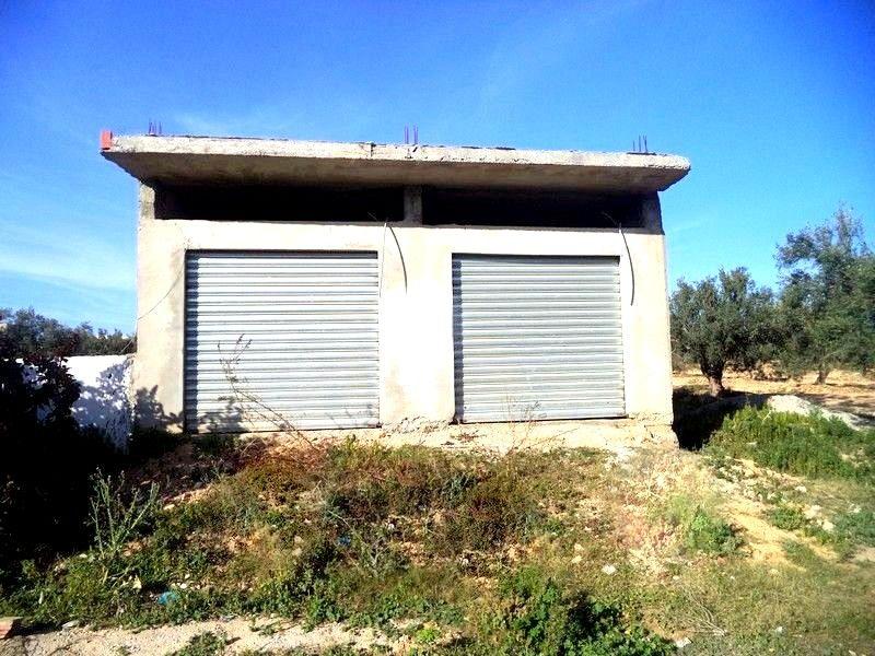 deux studio et deux garages à Hammamet sud