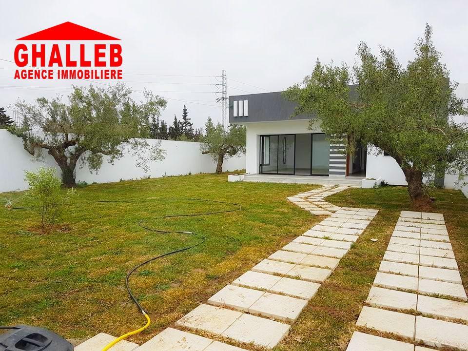 charmante villa avec jardin à Hammamet sud