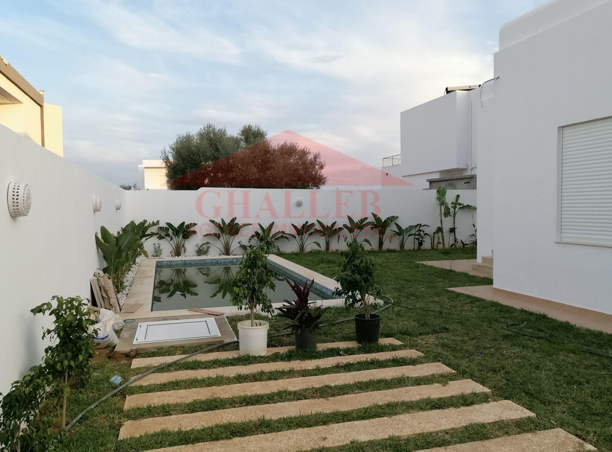 magnifique villa avec piscine à Hammamet sud